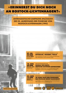 Rostock Plakat