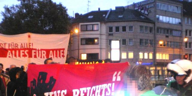 Recht auf Stadt Demo