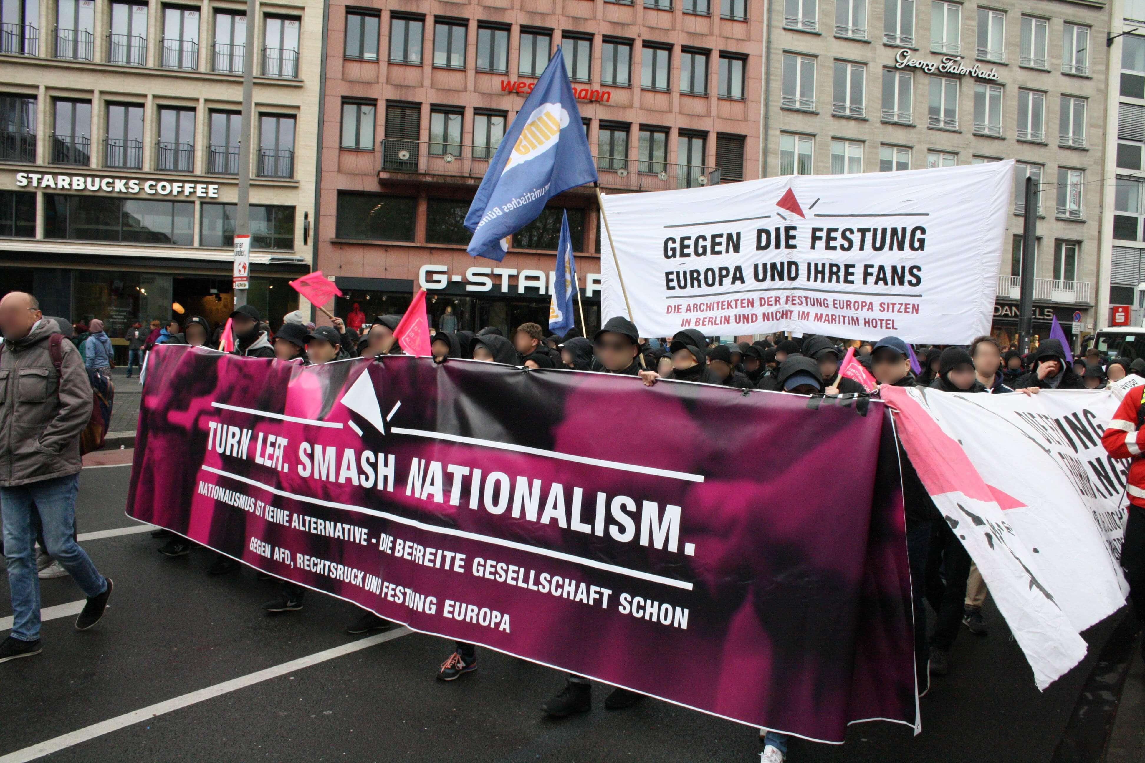 Nationalismus ist keine Alternative Block
