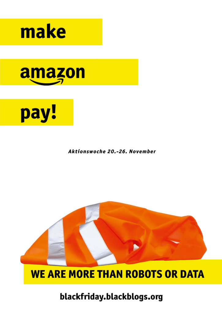 Make Amazon Pay! Plakat