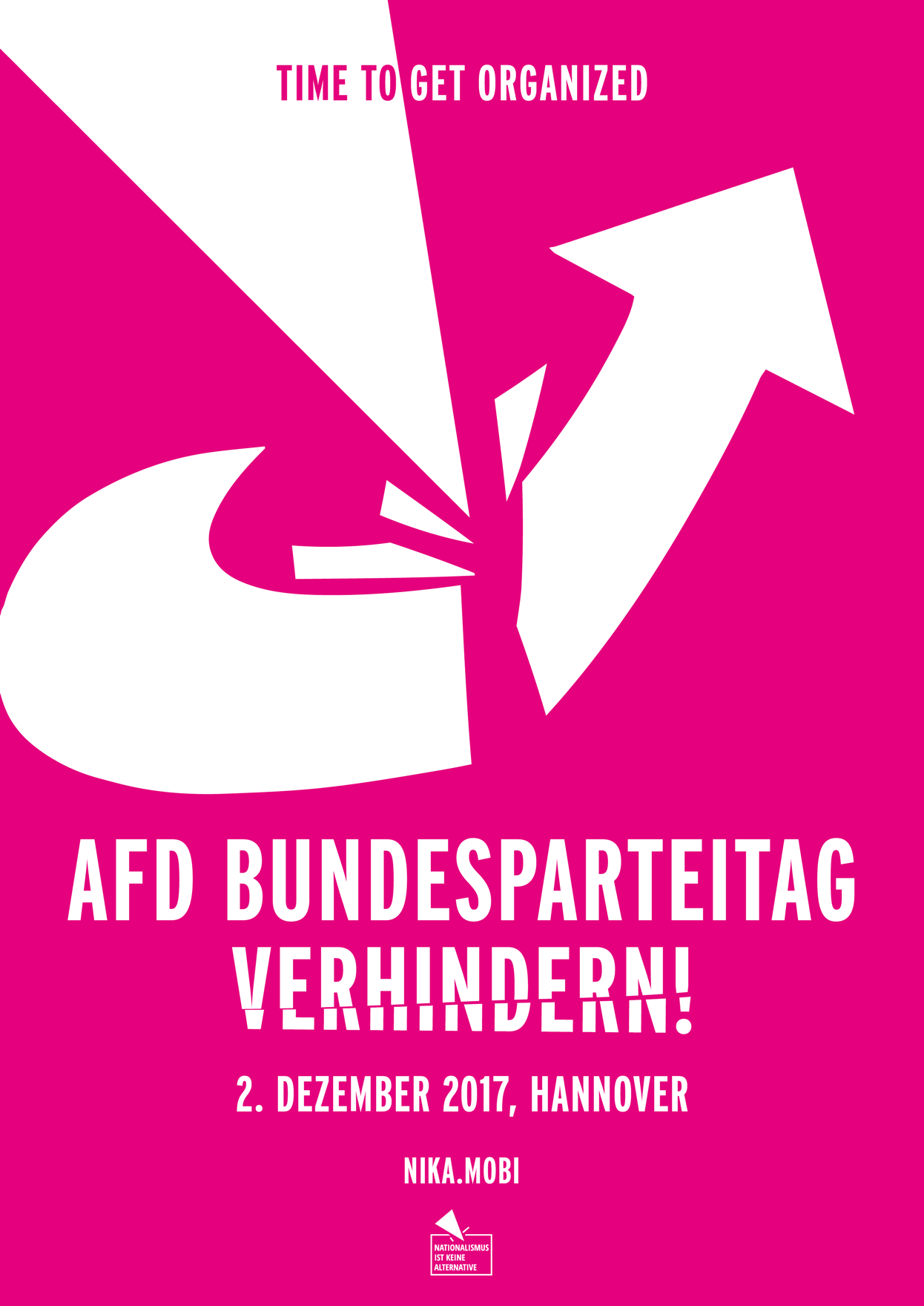 Plakat AfD-Bundesparteitag in Hannover verhindern!